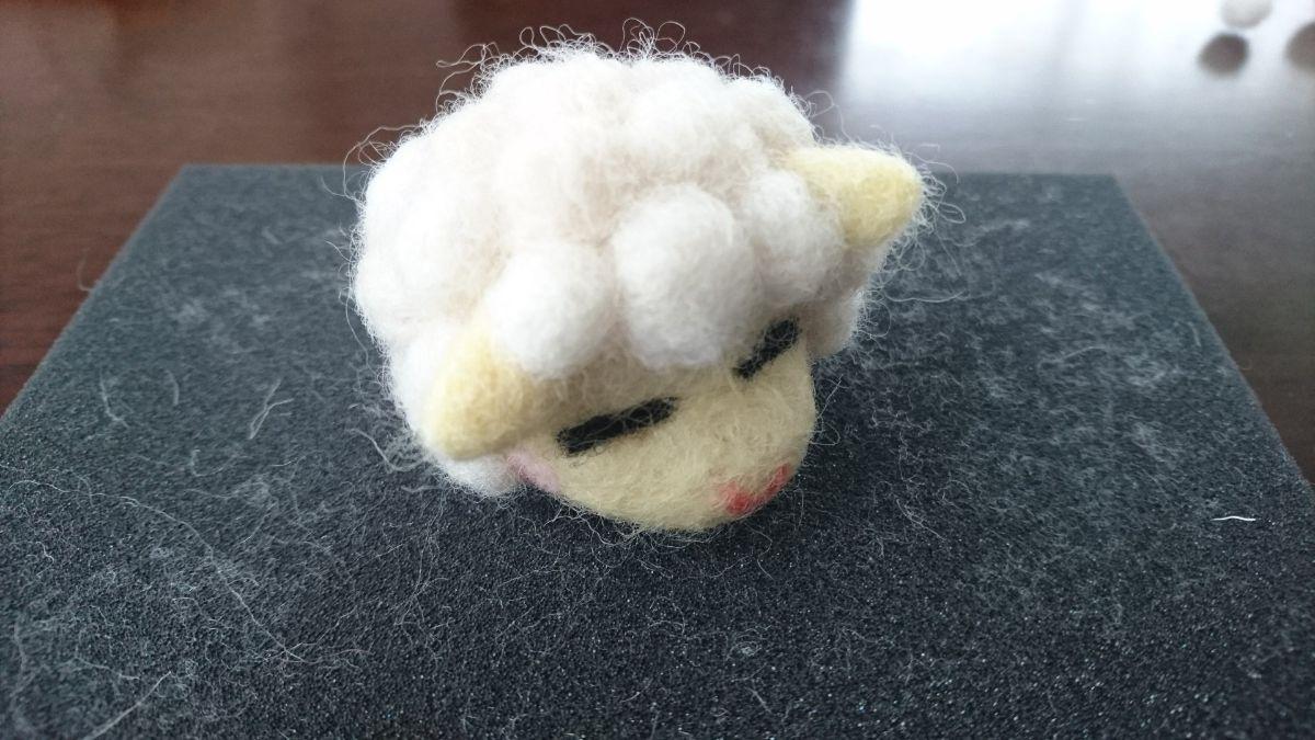 羊の頭の完成