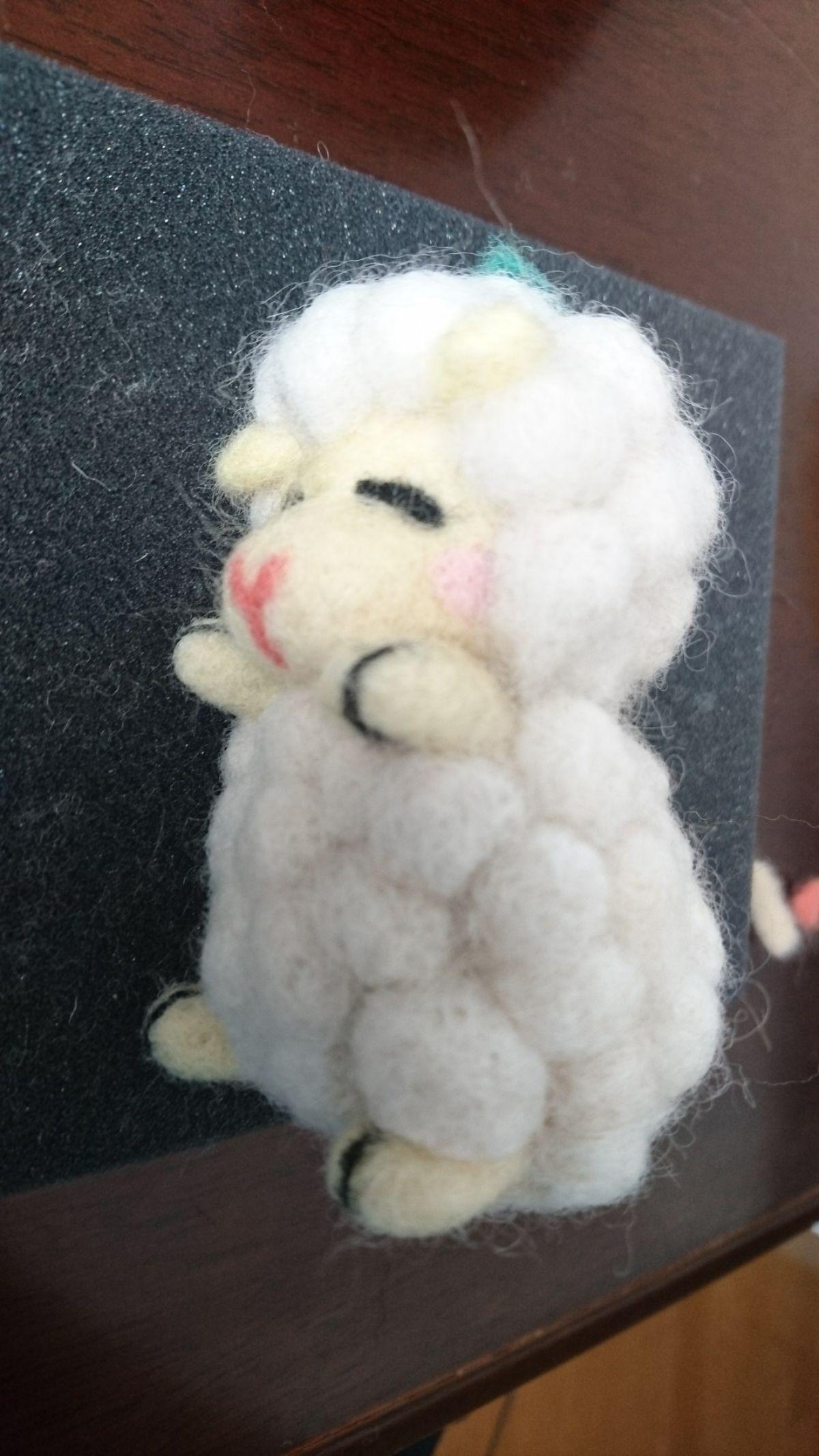 羊の完成(斜め)