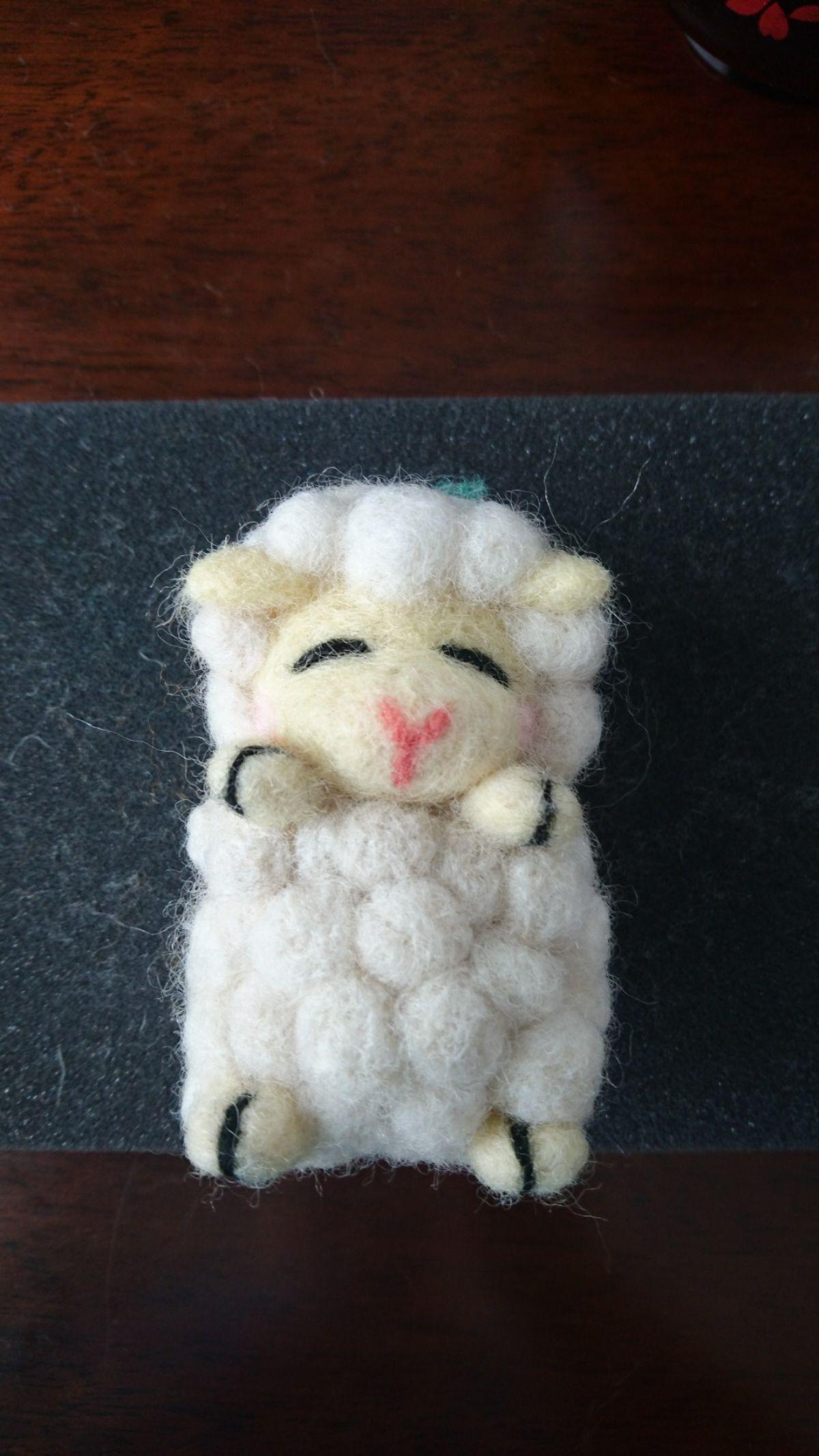 羊(真正面)