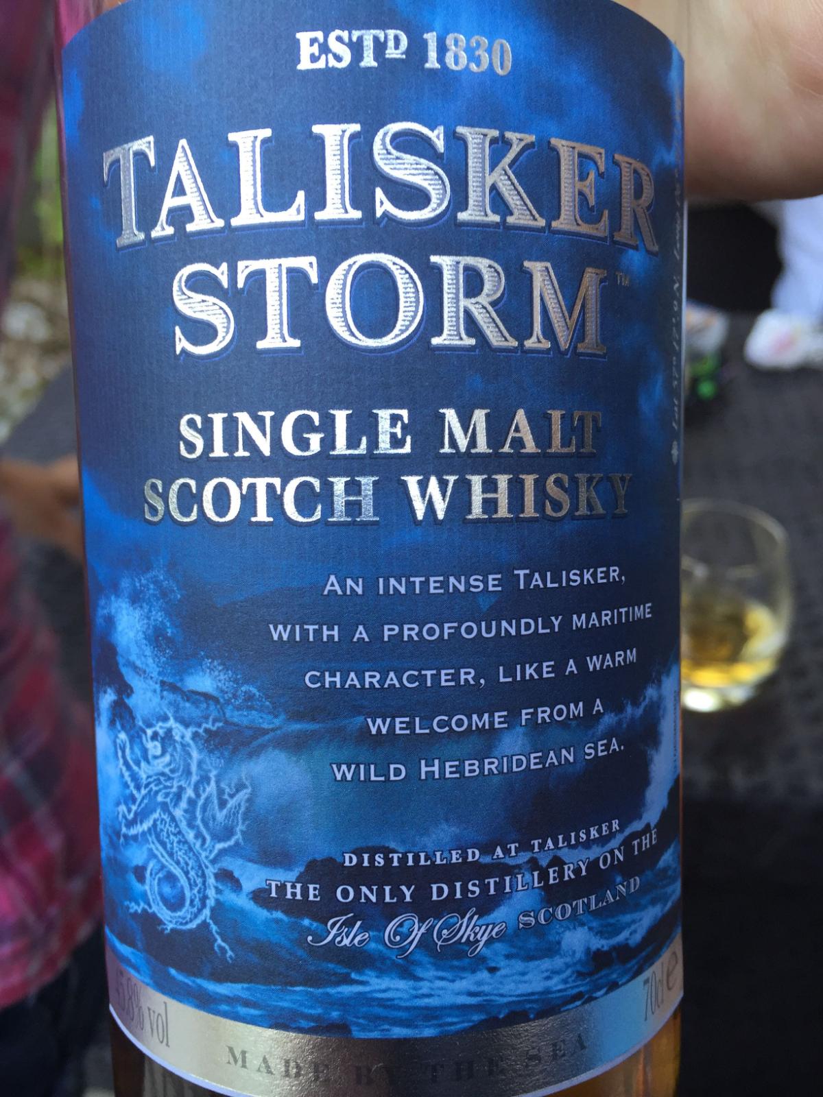 タリスカーのウイスキー